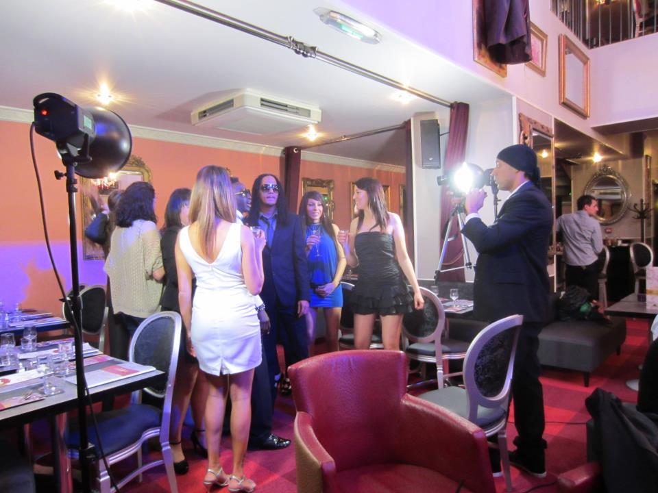 Tournage du Clip TV de DJ Kayens au Barroco Pau prestige & excellence bar restaurant
