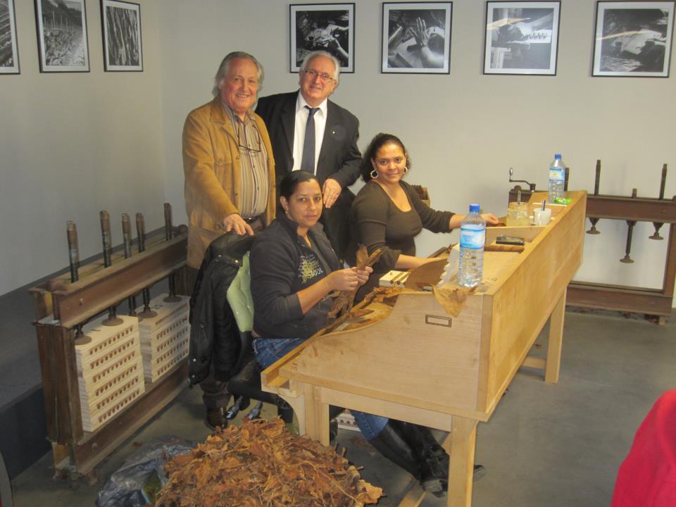 Thierry Frontère et ses Cigares Navarre Membre prestige & excellence pau navarrenx