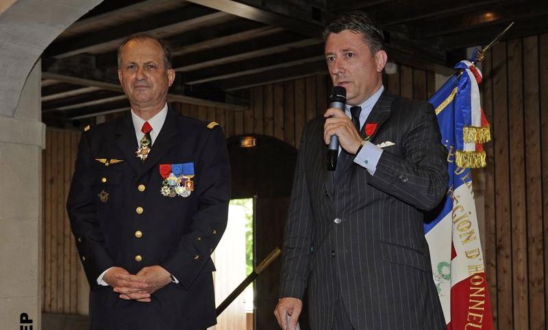 Philippe Jean Baptiste, PDG de la société MAP a été nommé Chevalier de la Légion d'Honneur à Pau