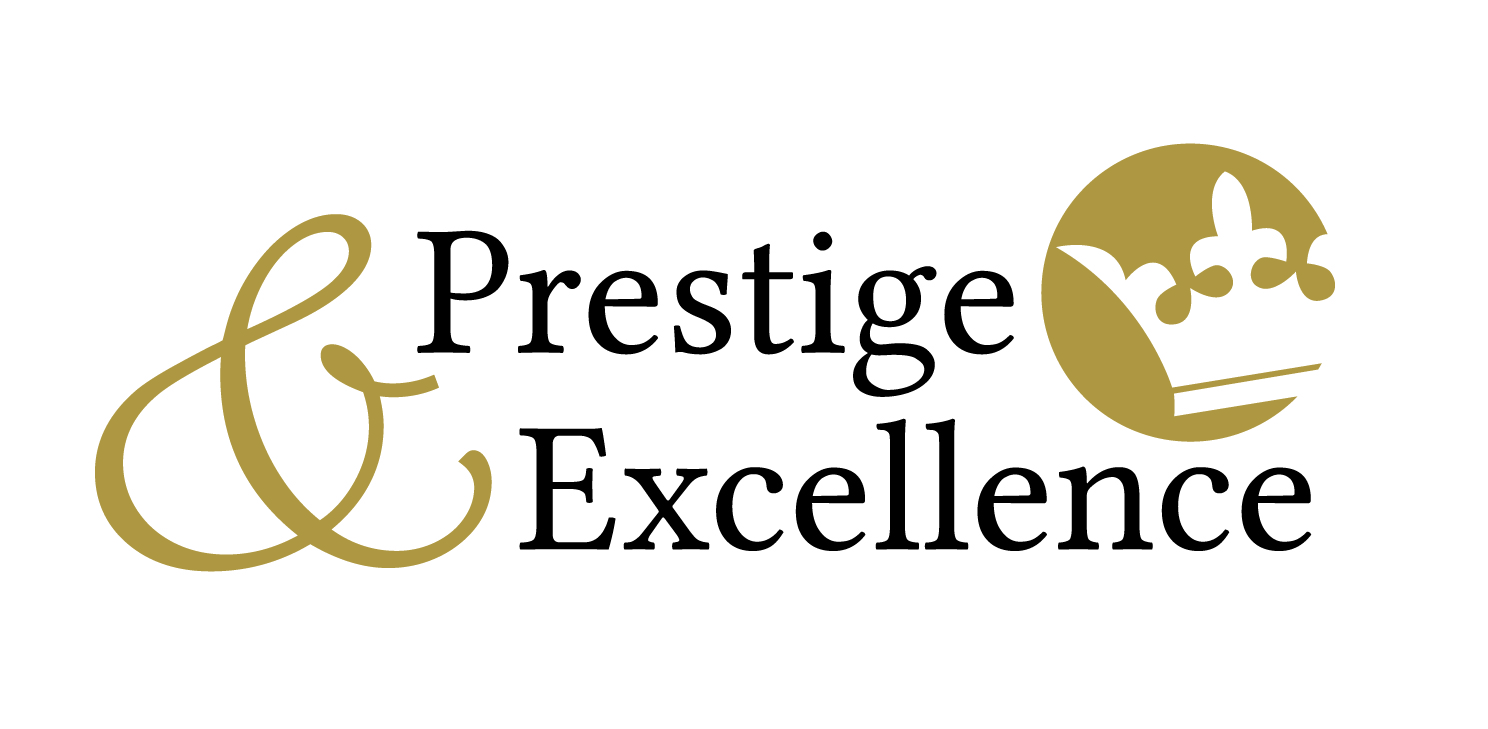 Logo Prestige & Excellence Nicolas demange fondateur reseau business